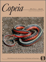 Cover of Copeia 2011:2