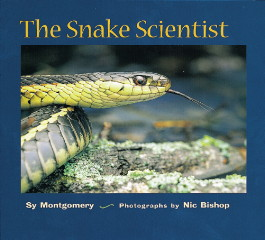 Book cover: The Snake Scientist